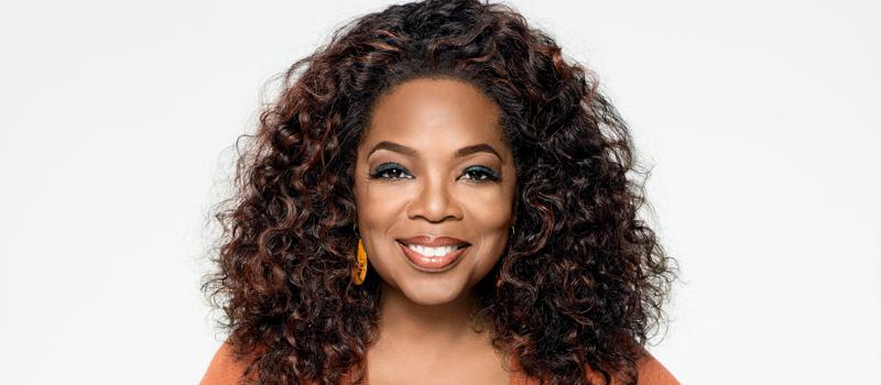 Image of Oprah Winfrey smiling