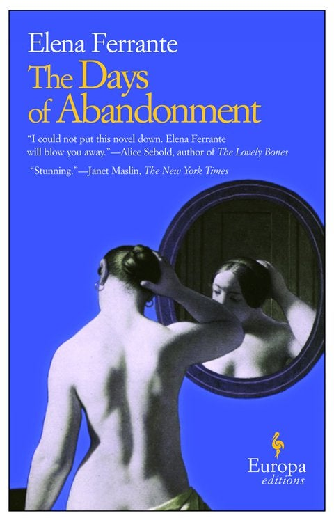 Book cover for The Days of Abandonment