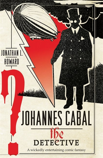 Book cover for Johannes Cabal the Detective