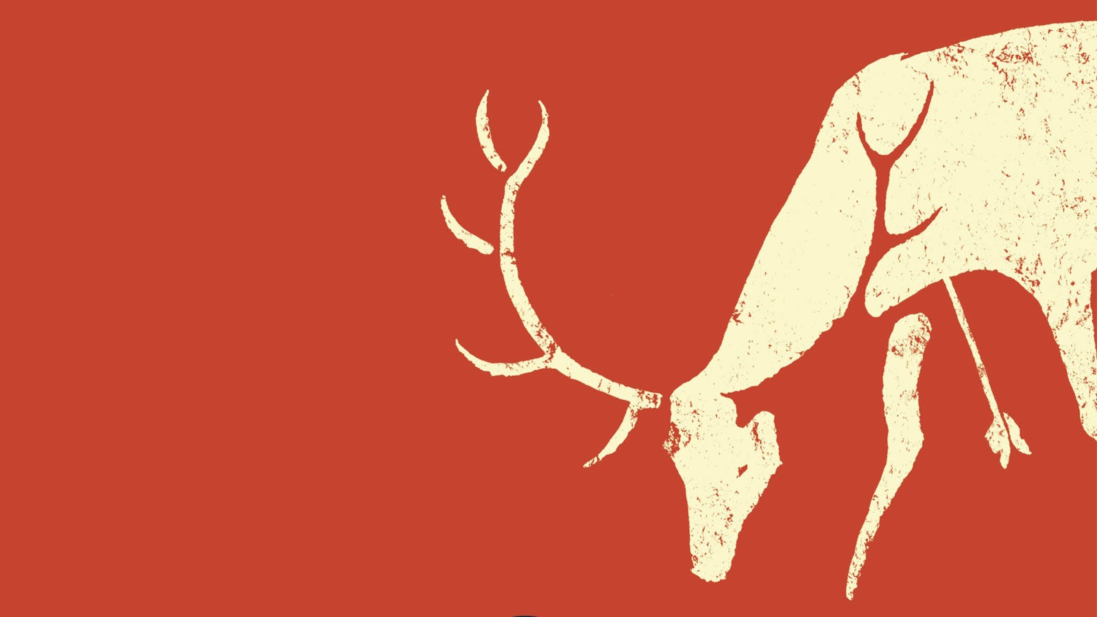 Illustration of a deer from the cover of Grimoire