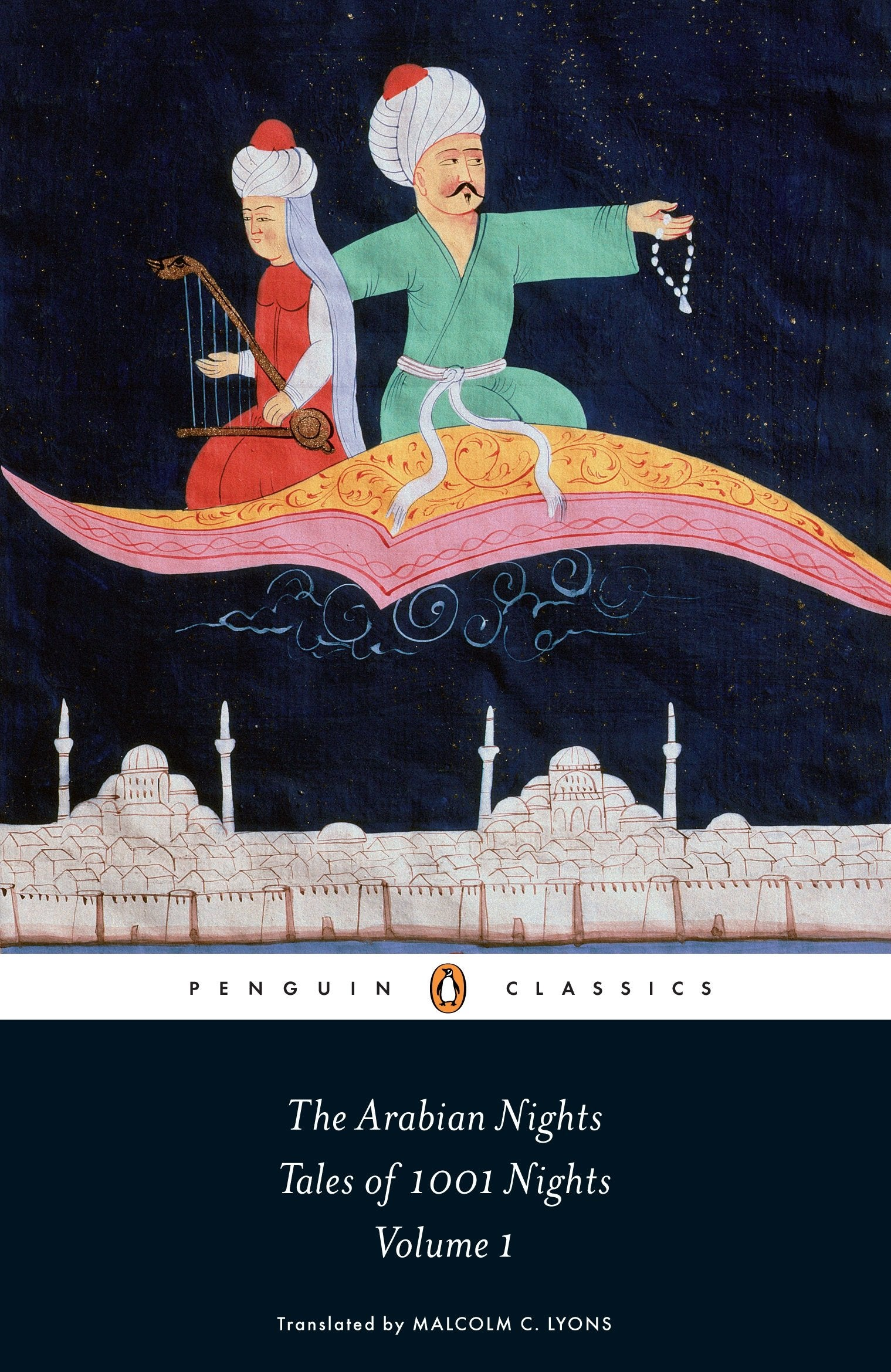 Book cover for The Arabian Nights: Tales of 1,001 Nights