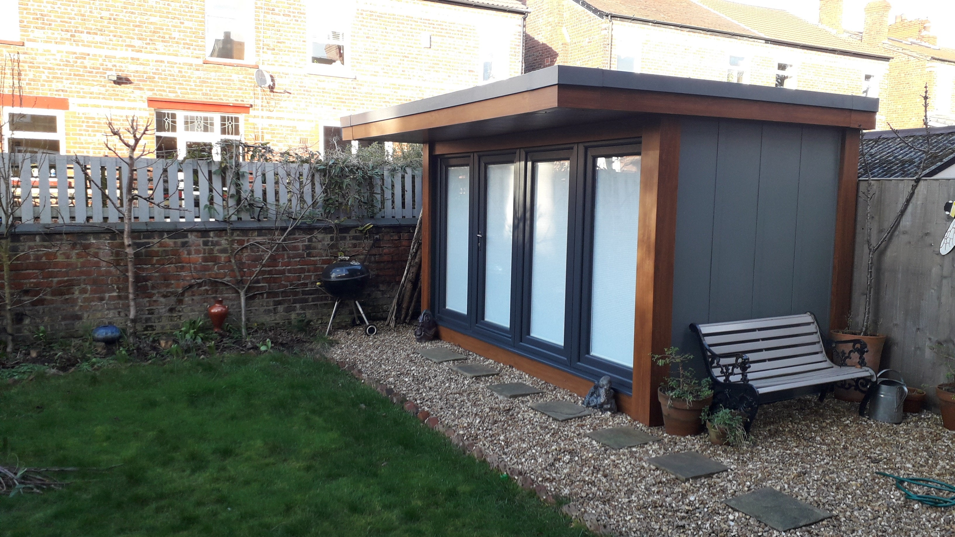 Sarah Butler's garden studio