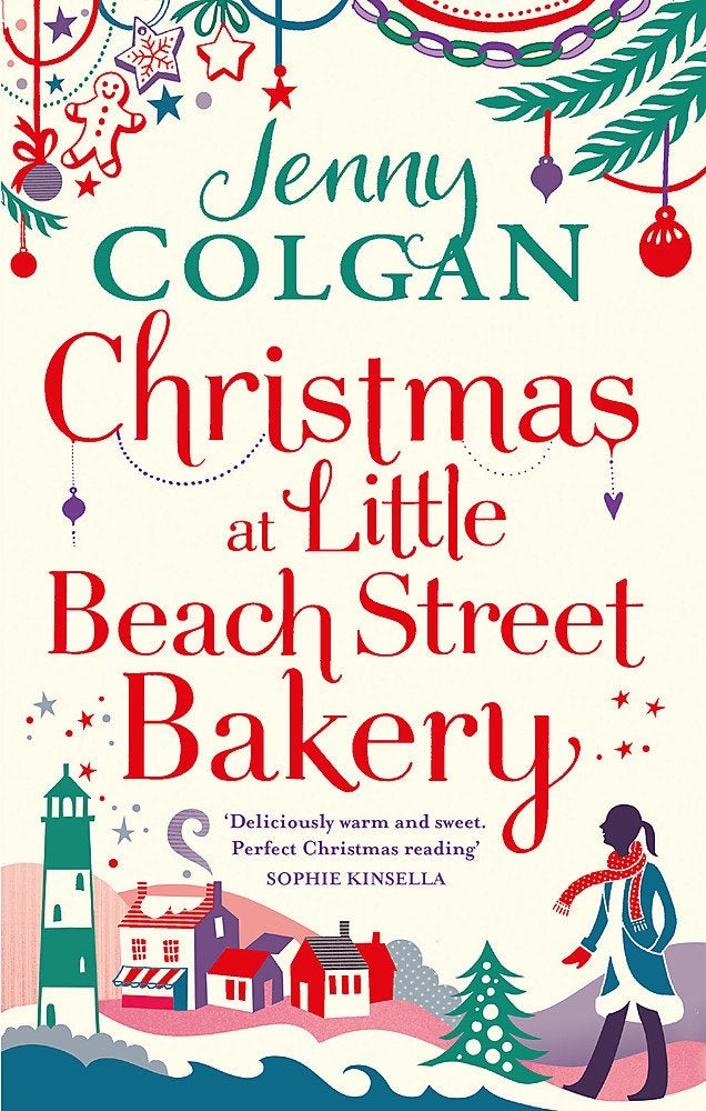 Book cover for Christmas at Little Beach Street Bakery