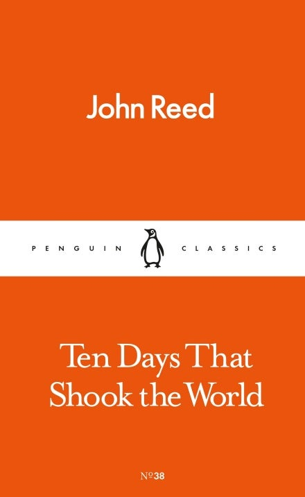 Book cover for Ten Days That Shook the World