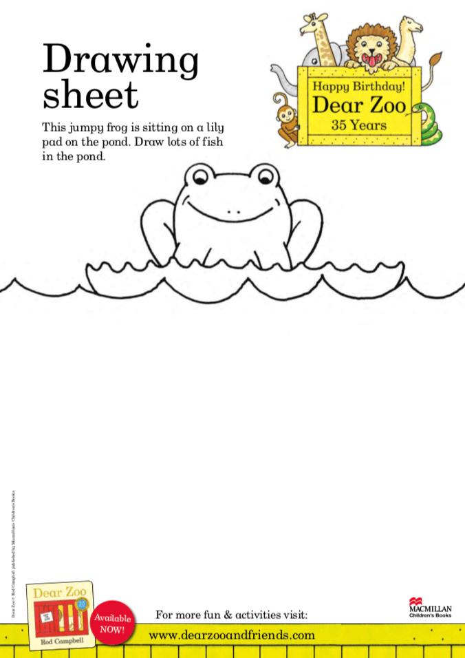 Drawing Sheet - Dear Zoo