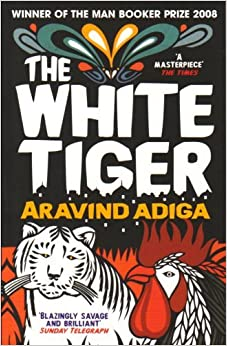 Book cover for The White Tiger, winner 2008