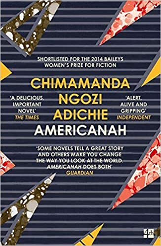 Book cover for Americanah