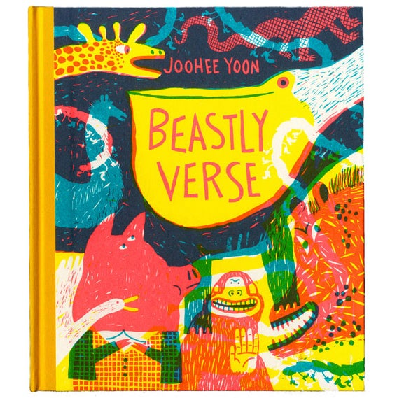 Cover image of Beastly Verse book