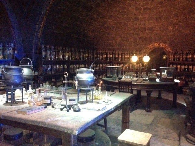 Snape's potions lab