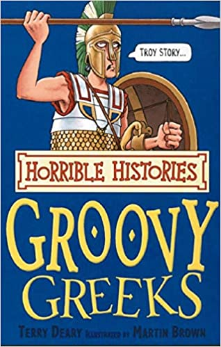 Book cover for Groovy Greeks