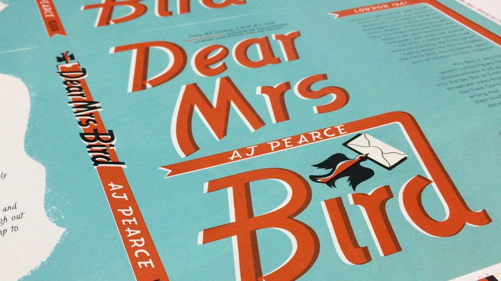 Dear Mrs Bird book cover