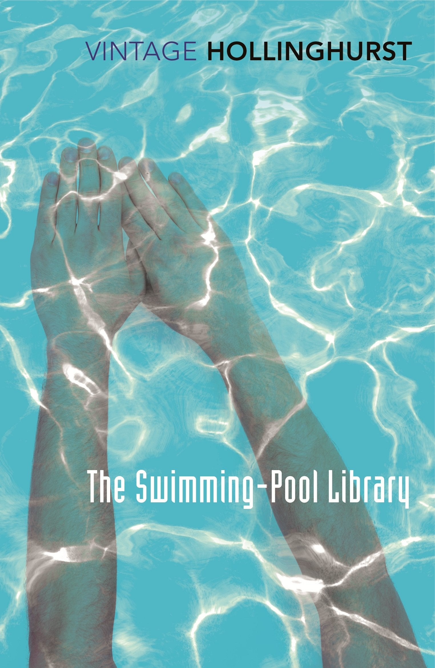 Book cover for The Swimming-Pool Library