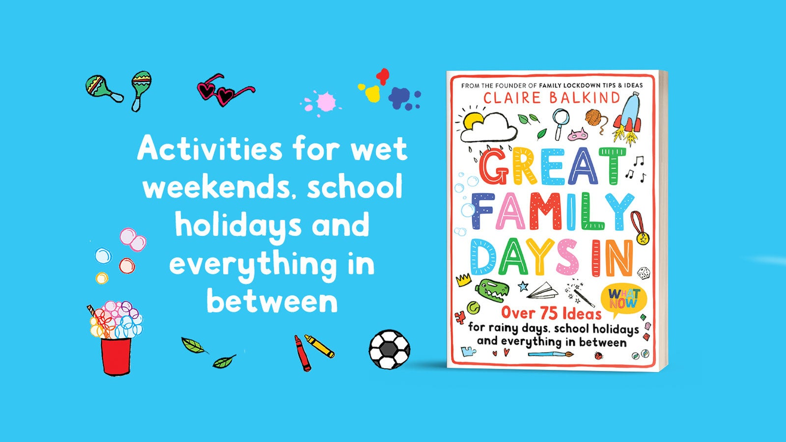 Great Family Days In book cover against a blue background
