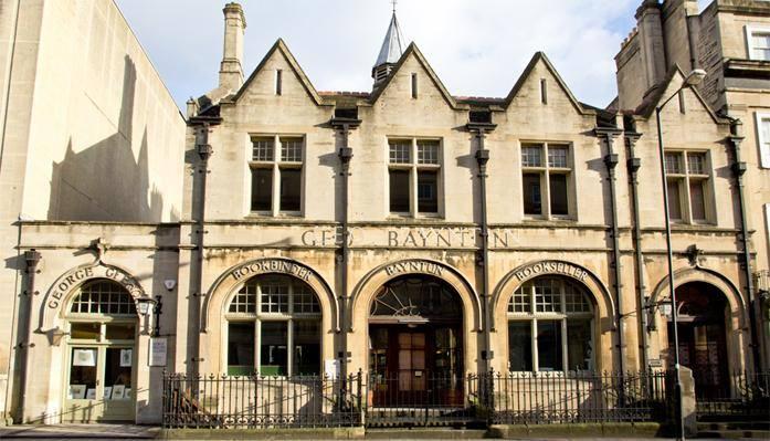 George Baynton bookshop exterior.