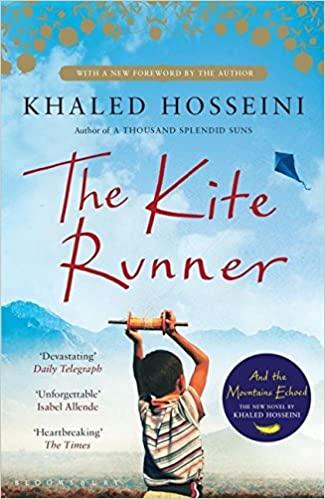 Book cover for The Kite Runner