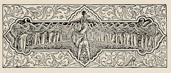 Toomai of the Elephants illustration The Jungle Book