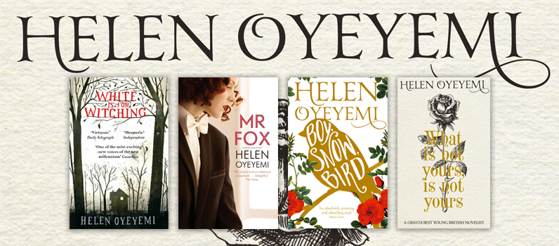 Helen Oyeyemi book covers