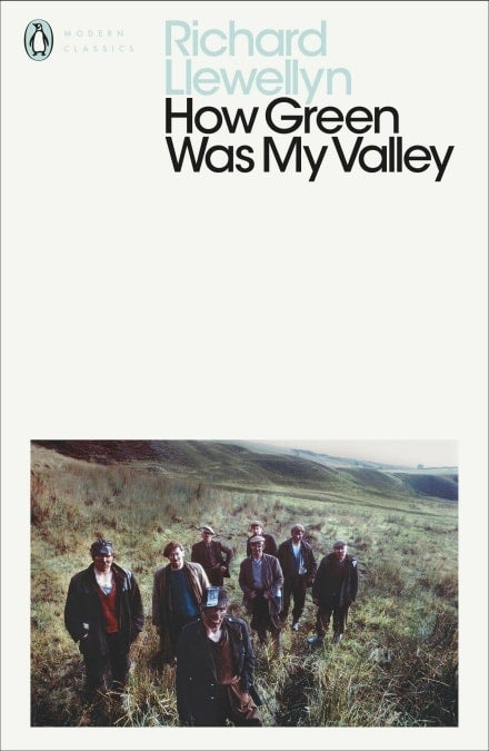 Book cover for How Green Was My Valley