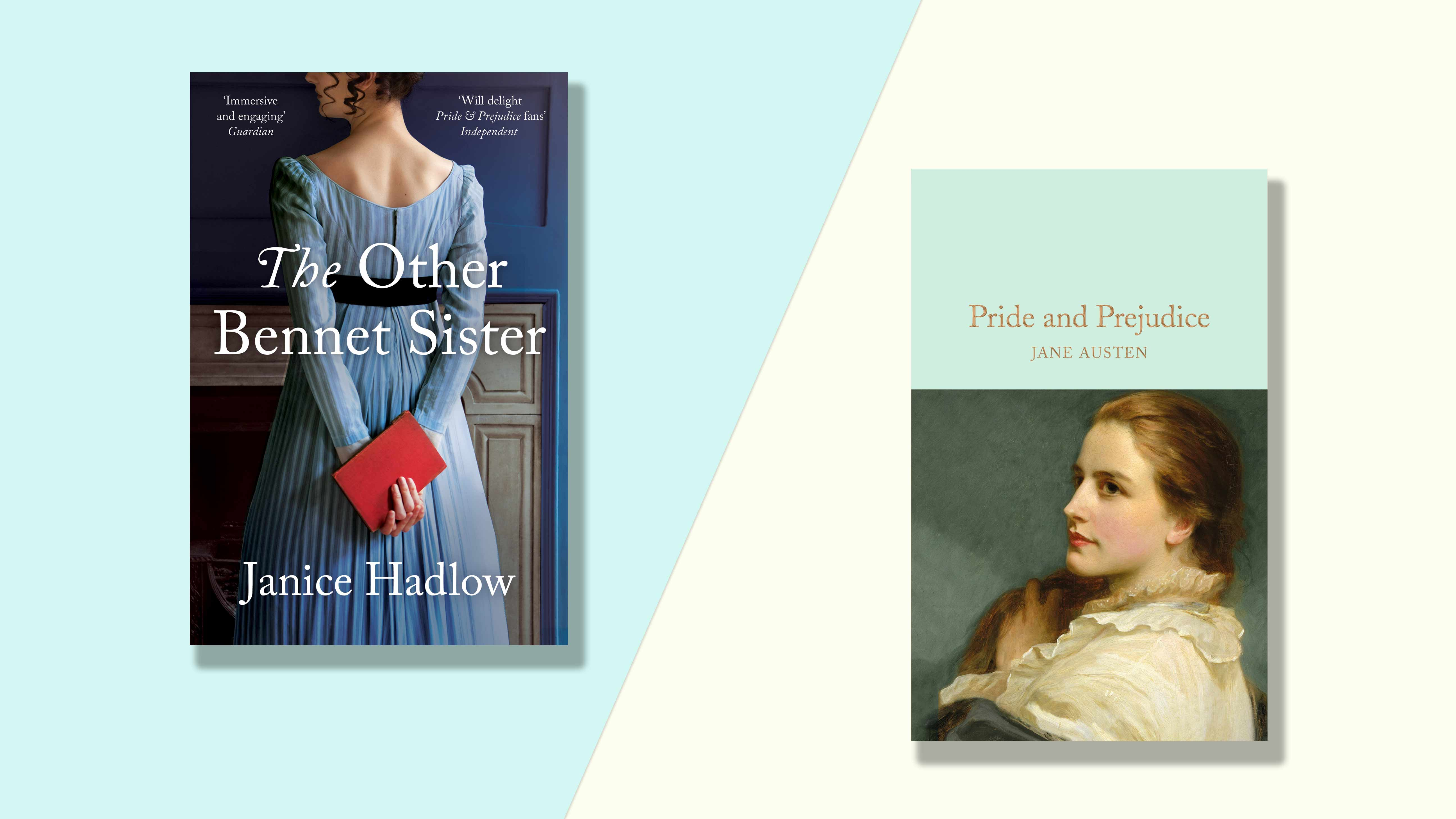 The Other Bennet Sister and Pride and Prejudice book covers