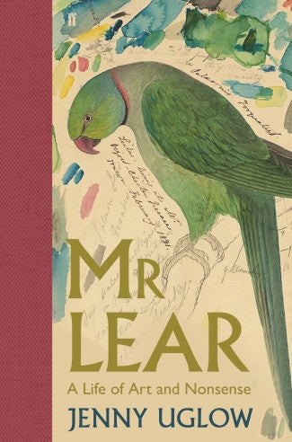 Book cover for Mr Lear: A Life of Art and Nonsense