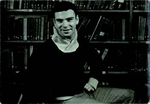 Oliver Sacks at Oxford ca 1953 (c) David Drazin
