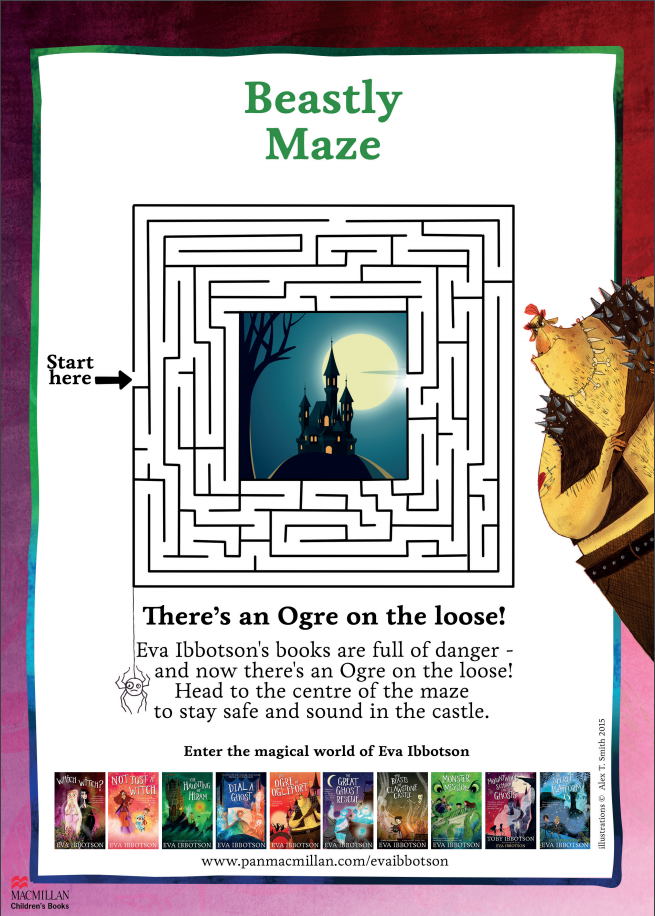Which Witch themed maze