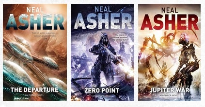 Owner Series by Neal Asher book covers