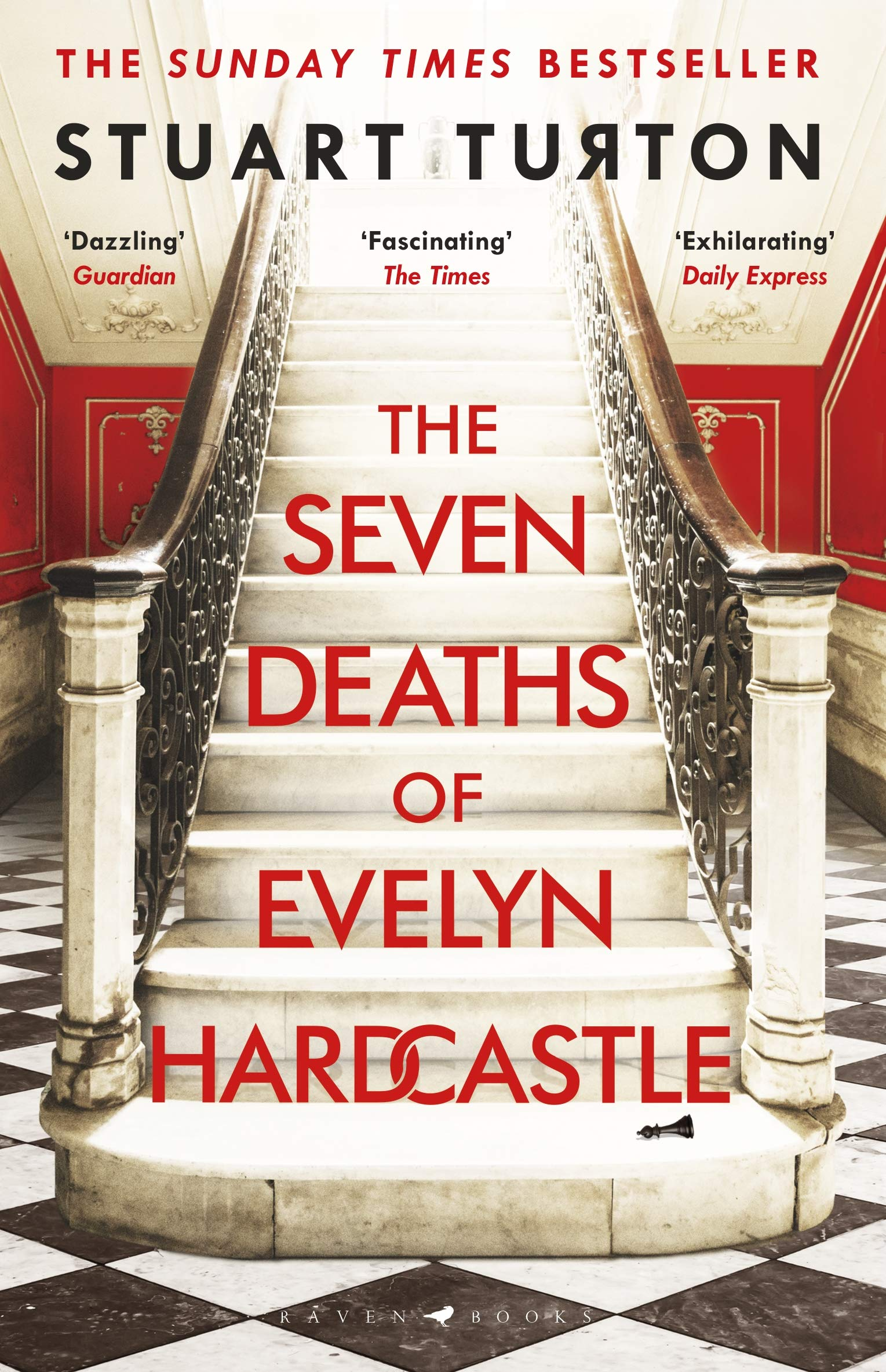 Book cover for The Seven Deaths of Evelyn Hardcastle