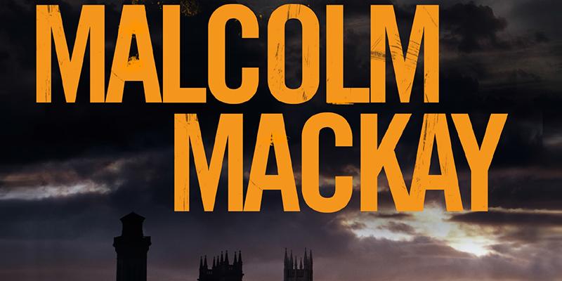 Malcom Mackay's name against a dark stormy sky