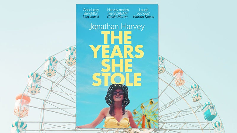 The Years She Stole by Jonathan Harvey book cover