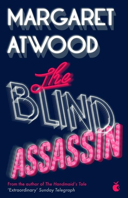 Book cover for The Blind Assassin, winner 2000