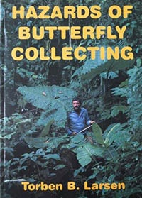 Book cover for Hazards of Butterfly Collecting