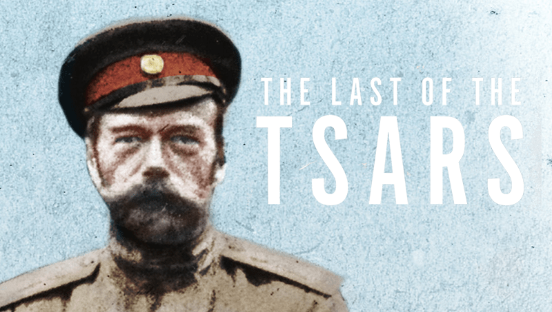 The Last of the Tsars book cover