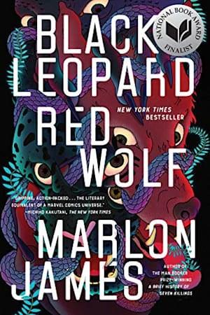 Book cover for Black Leopard, Red Wolf