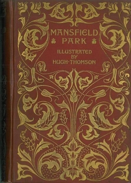 Mansfield Park peacock edition Hugh Thompson 1896