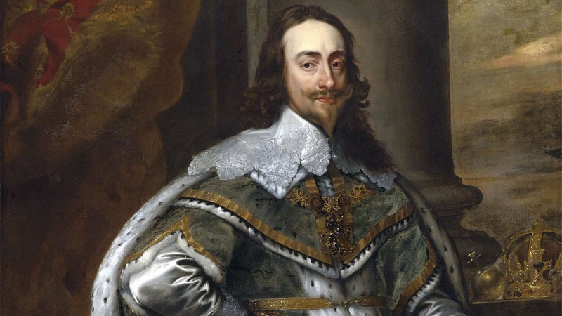 Painting of King Charles I