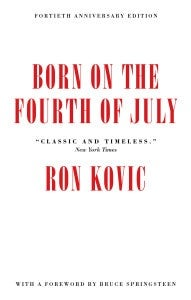 Book cover for Born on the Fourth of July
