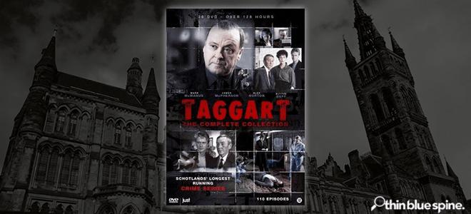 Taggart TV series boxset