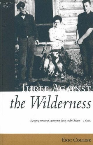 Book cover for Three Against the Wilderness