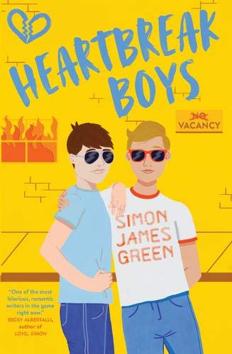 Book cover for Heartbreak Boys