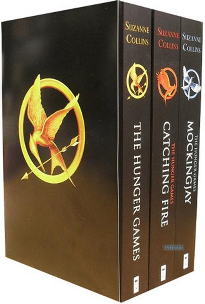 Book cover for The Hunger Games Trilogy