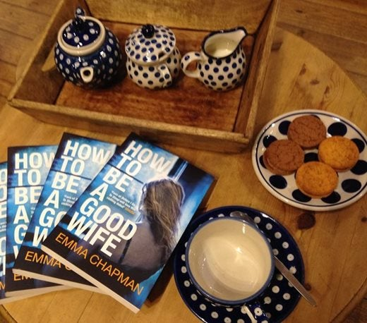 How to be a good wife books, tea cups and biscuits
