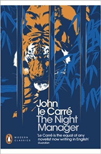Book cover for The Night Manager