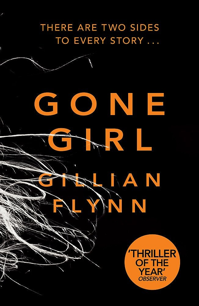 Book cover for Gone Girl