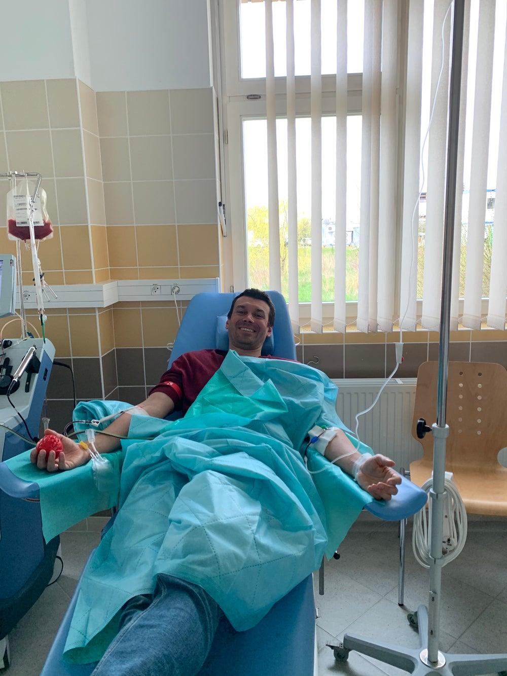 Krzysztof Małecki - Dawca komórek macierzystych