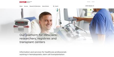 Nowa platforma DKMS dla specjalistów