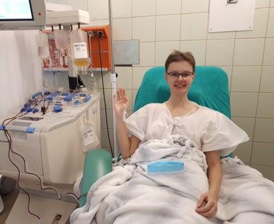 Katarzyna Stańczyk - Dawczyni komórek macierzystych