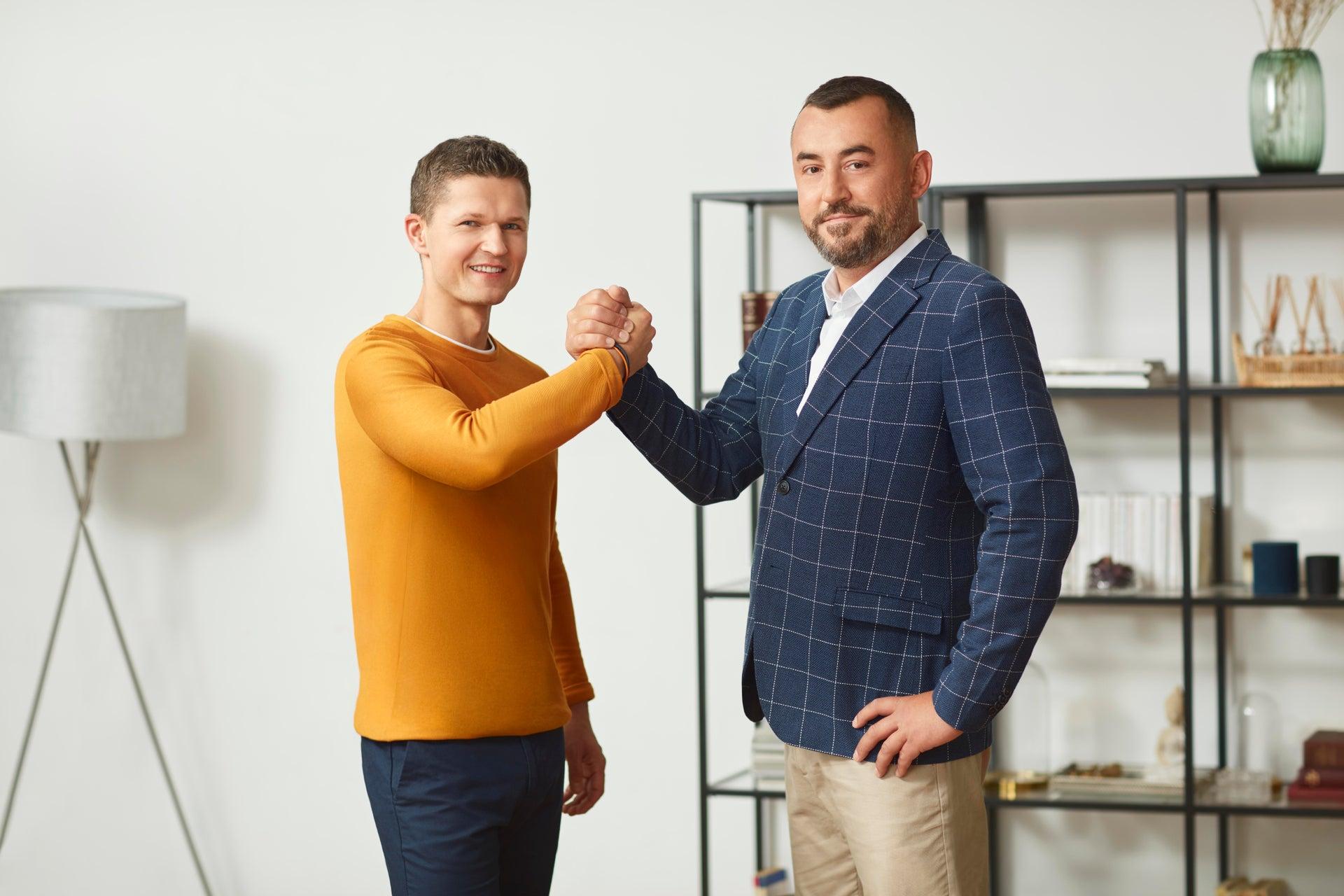 Dawid i Piotr współpraca