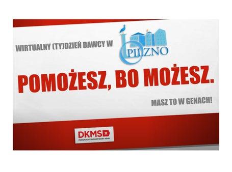 Fundacja DKMS | Zarejestruj się z Petrycym!