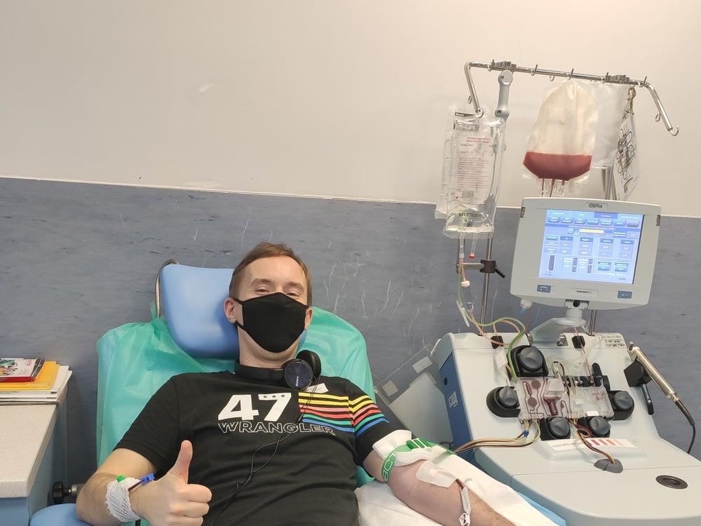 Bartłomiej Ferner - Dawca komórek macierzystych